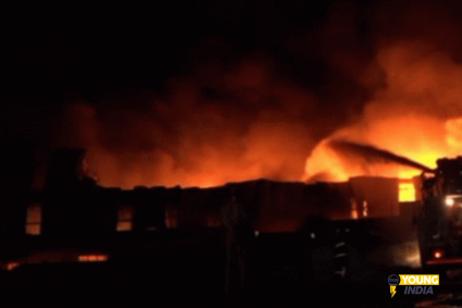 J&K: Fire breaks out at substance industrial facility in Udhampur, Air Force brought in